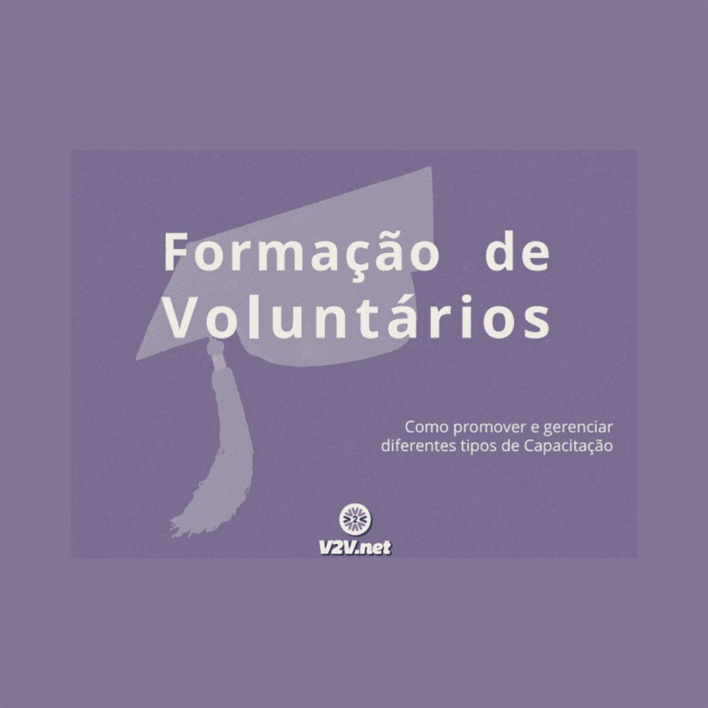 V2V – eBook: Formação de Voluntários